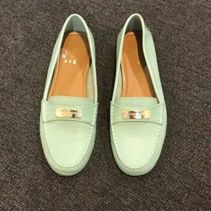 Women's Coach loafers. Gently used.